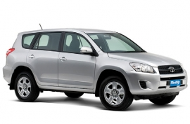 Toyota RAV4 or Nissan XTrail (or similar) Medium AWD  IFAR