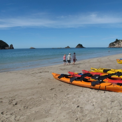 Hahei Beach kayaks Medium 12 Days Northern Escape