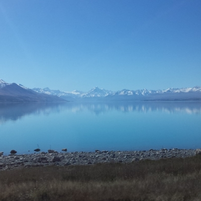 Pukaki Mt Cook 2 Medium