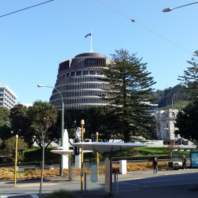 Wellington Beehive Parliament Buildings Medium 9 Days Northern Nomad
