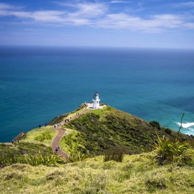 Cape Reinga Lighthouse 1 compressor 24 Days New Zealand Meander