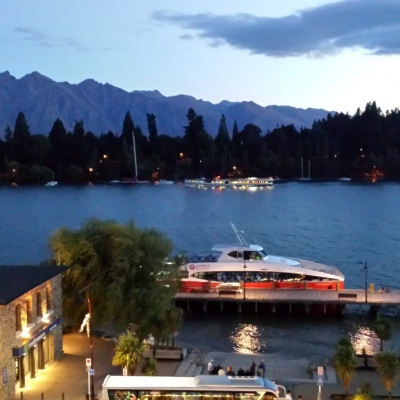 Queenstown by night Medium
