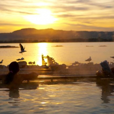 Polynesian Spa adult pool 1 evening 10 Days New Zealand Essential Sights